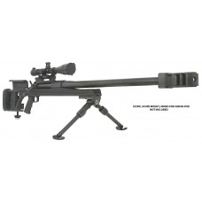 "Armalite 50A1B AR 50BMG Bolt 50 Browning Machine Gun (BMG) 30"" 1 Aluminum Stk Blk Hard Coat Anodized/Phosphate"