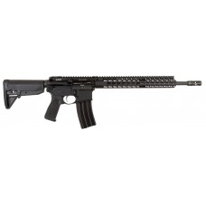 "Bravo 653-790 BCM RECCE-16 Semi-Automatic 300 AAC Blackout/Whisper (7.62x35mm) 16"" 6-Position Stk Blk"