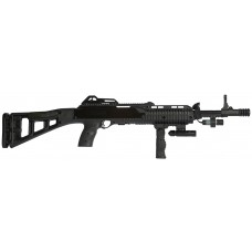 "LDB Supply 995TSFGFLLAZ 995TS Carbine with Laser *CA Compliant* Semi-Automatic 9mm 16.5"" 10+1 Synthetic Black Stk Black"