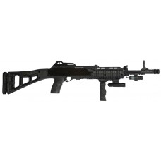 "LDB Supply 4095TSFGFLLA 4095TS Carbine with Laser *CA Compliant* Semi-Automatic 40 Smith & Wesson 17.5"" 10+1 Synthetic Black Stk Black"