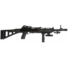 "LDB Supply 4595TSFGFLLA 4595TS Carbine with Laser *CA Compliant* Semi-Automatic 45 Automatic Colt Pistol (ACP) 17.5"" 9+1 Synthetic Black Stk Black"