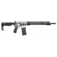 "Patriot Ordnance Factory  Renegade Plus Semi-Automatic 223 Remington/5.56 NATO 16.5"" 30+1 Mission First Black Stk Nickel"