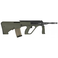 """Steyr AUGM1GRNH2 AUG A3 M1 Semi-Automatic 223 Remington/5.56 NATO 16"""" 30+1 Extended Rail Synthetic Green Stk Black"""