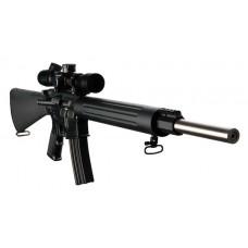 """DPMS 60509 Bull 20 Varmint/Target Semi-Automatic 223 Remington/5.56 NATO 20"""" 30+1 A2 Black Stock Black"""