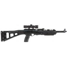"""Hi-Point 4095TS4X32 4095TS Carbine 40 S&W Semi-Automatic 40 Smith & Wesson 17.5"""" 10+1 Polymer Skeleton Black Stock w/4x32 Scope"""