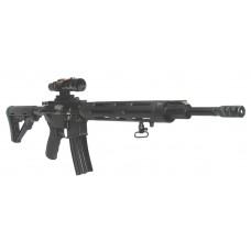 "DPMS 60521 3G1 Competition Rifle Semi-Automatic 223 Remington/5.56 NATO 18"" 30+1 Magpul CTR Black Stock Black"