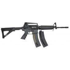 "Chiappa MKS 500063 MFour-22 Semi-Automatic 22 Long Rifle 16"" 28+1 Fixed Stk Blk"