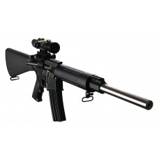 "DPMS 60507 Sweet 16 Varmint/Target Semi-Automatic 223 Remington/5.56 NATO 16"" 30+1 A2 Black Stock Black/Stainless Steel"