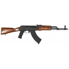 "I.O. IODM2008 AKM247 Classic Semi-Automatic 7.62x39mm 16.5"" 30+1 Underfold Laminate Wood Stk Black Parkerized/Black Nitride"