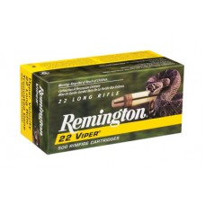 Remington Ammunition 1900 Viper 22 LR Truncated Cone Solid 36 GR 100Box/50Case