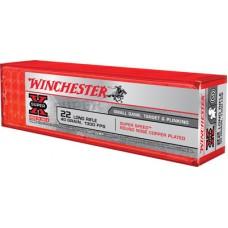 Winchester Ammo X22LRSS1 Super-X 22 Long Rifle 40 GR Round Nose 100 Bx/20 Cs