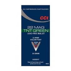 CCI 0060 Varmint 22 Winchester Magnum Rimfire (WMR) 30 GR TNT Hollow Point 50 Bx/ 40 Cs