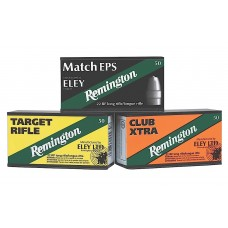 Remington Ammunition RE22T Eley 22 Long Rifle (LR) 40 GR Lead Round Nose 50 Bx/ 100 Cs
