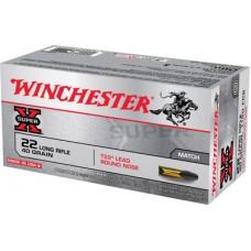 Winchester Ammo XT22LR Super-X 22 Long Rifle 40 GR Lead Round Nose 50 Bx/ 100 Cs