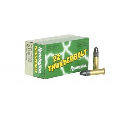 Remington Ammunition TB22A Thunderbolt 22 Long Rifle (LR) Round Nose 40 GR 50Box/100Case