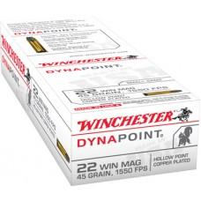 Winchester Ammo USA22M Best Value 22 Winchester Magnum Rimfire (WMR) 45 GR Dynapoint 50 Bx/ 40 Cs
