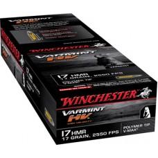 Winchester Ammo S17HMR1 Supreme 17 Hornady Magnum Rimfire (HMR) 17 GR V-Max 50 Bx/ 40 Cs