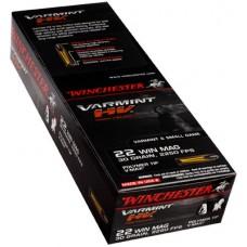 Winchester Ammo S22M2PT Supreme 22 Winchester Magnum Rimfire (WMR) 30 GR V-Max 50 Bx/20 Cs