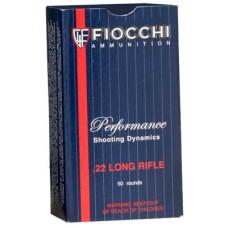 Fiocchi 22FHPSUB Shooting Dynamics 22 LR 38 GR SubSonic Hollow Point 50 Bx/ 100 Cs