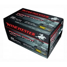 Winchester Ammo PP22LRH42U 42 Max 22 Long Rifle 42 GR Power-Point 50 Bx/100 Cs