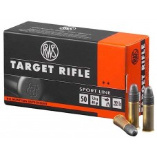 RWS 2132478 22 LR 22 Long Rifle Lead Round Nose 40 GR 50 Rnds Per Box