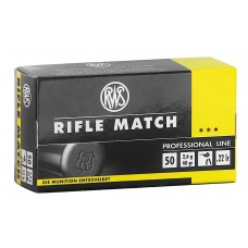 RWS 2134225 22LR Match Ammo 40 GR 50 Rounds Per Box