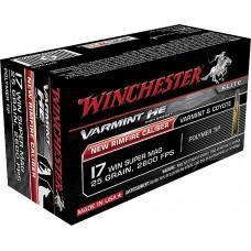 Winchester Ammo S17W20 Varmint 17 Winchester Super Magnum  (WSM) 20 GR Polymer Tip 50 Bx/ 10 Cs