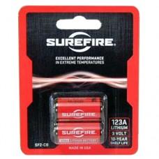 Surefire SF2CB 123A 3V Lithium Quantity 2