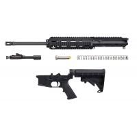 "HK 235975A5 MR 556 AR-15 Complete Piston Upper 223 Rem/5.56 NATO 16"" Black"