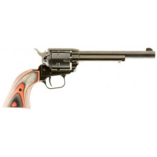 Heritage Mfg RR22B6RUBR Rough Rider Small Bore Single 22 Long Rifle 6.5