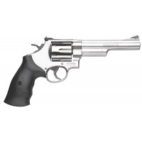 "Smith & Wesson 163606 629 Stainless Single/Double 44 Remington Magnum 6"" 6 Black Synthetic Stainless"