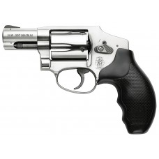 """S&W 163690 640 Internal Hammer 357 Mag 2.12"""" 5rd Syn Grip Satin Stainless Finish"""