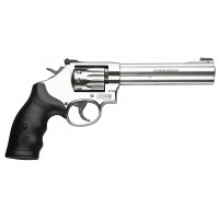 """Smith & Wesson 160578 617  Single/Double 22 Long Rifle 6"""" 10 Black Synthetic Stainless"""