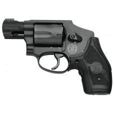 "S&W 163073 M&P 340 CT 357 Mag 1.87"" 5rd Crimson Trace Grip Black Finish"