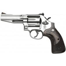 """S&W 178012 686 Pro SSR 357 Mag 4"""" 6rd Wood Grip Adj Sight Satinless"""