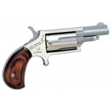 NAA 22M 22 Magnum Rosewood Grip Single 22 Winchester Magnum Rimfire (WMR) 1.6