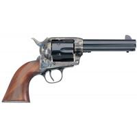 "Taylors&Co 700A 1873 Single Cattleman 45LC 4.75"" 6rd Walnut Grip Blued w/CH Fram"