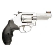 "S&W 162634 M63 Revolver 22LR 3"" 8rd Adj Rear Sights/HiViz Front Syn Grip SS"