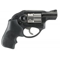 "Ruger 5450 LCR Standard Double 357 Magnum 1.87"" 5 Hogue Tamer Monogrip Black Black Stainless Steel"
