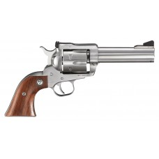 "Ruger 0309 Blackhawk Stainless Single 357 Magnum 4.6"" 6 Hardwood Stainless"