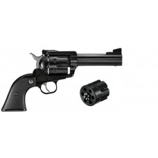 "Ruger 0308 Blackhawk Convertible Single 357 Magnum 4.6"" 6 Black Rubber Blued"