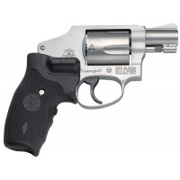 """Smith & Wesson 150972 642 Airweight Crimson Trace No Lock Double 38 Special 1.875"""" 5 Crimson Trace Laser Stainless"""