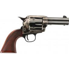 "Taylors&Co 4207 Runnin Iron 357 RemMag 4.75"" 6rd Checkered Walnut Grip Blued"