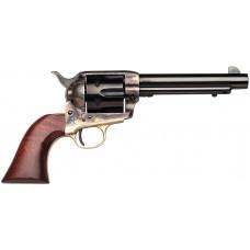 "Taylors 441 Cattleman Ranch Hand 1873 357RemMag 5.5"" 6 Walnut Grip Blued"