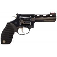 "Rossi R98104 R98 Plinker Ribber Grip Single/Double 22 Long Rifle 4"" 8 Black Ribber Blued"