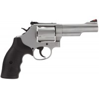 """Smith & Wesson 162069 69 L-Frame DA/SA 44 RemMag 4.25"""" 5rd Stainless Steel"""