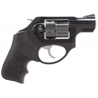 """Ruger 5430 LCR LCRx 1.87"""" Single/Double 38 Special 1.87"""" 5 Hogue Tamer Monogrip Black Black Stainless Steel"""