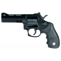 """Comanche CR21002 Comanche II-A Double 38 Special 3"""" 6 Black Synthetic Blued"""