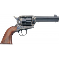 """Taylors and Company 700E 1873 Cattleman Single 357 Magnum 4.75"""" 6rd Walnut Blued"""