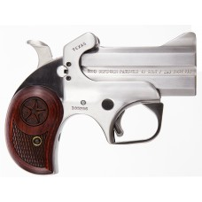 "Bond Arms BATD Texas Defender Derringer Single 357 Magnum 3"" 2 Round Stainless"